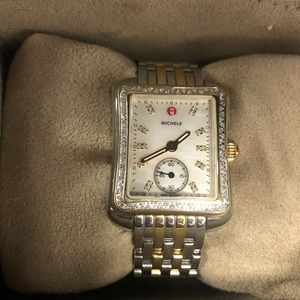 Michele Deco Moderne II Watch with Band